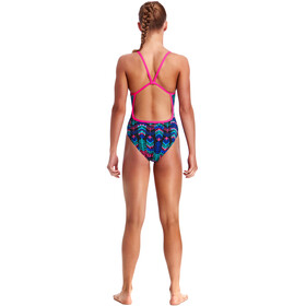Funkita Single Strap One Piece Swimsuit Girls Feather Duster